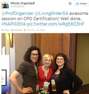 CPO FAQ - NAPO Conf 2014 - speaker testimonial