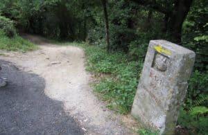 km marker - Camino de Santiago